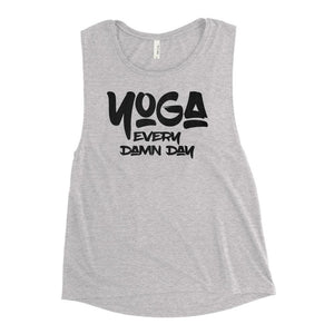 YOGA EVERY DAY | Women's Scoop Tank EAST OF ALTA Athletic Heather S