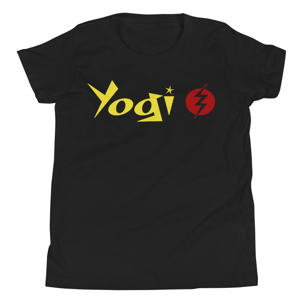 YOGI LIGHTNING | Youth Tee Kundalini Market Black S