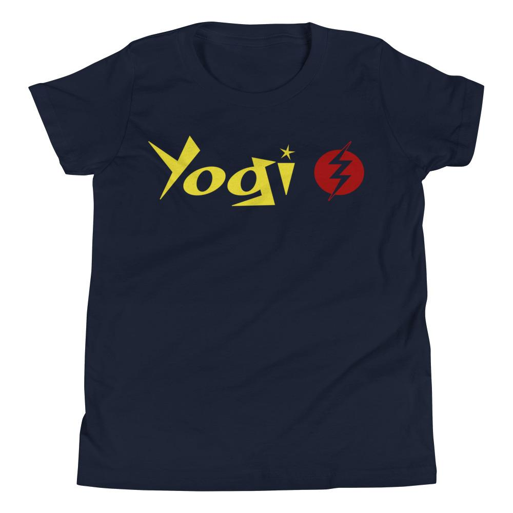 YOGI LIGHTNING | Youth Tee Kundalini Market Navy S