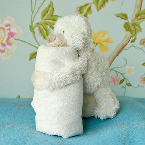 Cream Baby Bear Soother Comforter