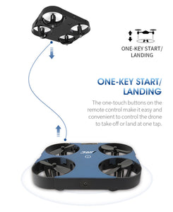 Mini Foldable Ultra-thin RC Quadcopters Drone