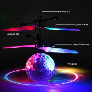 LED Ball RC Helicopter Quadcopter Drone