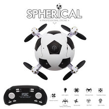 Load image into Gallery viewer, Mini Foldable RC Quadcopter Football Drone