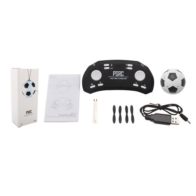 Mini Foldable RC Quadcopter Football Drone