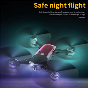 Mini Foldable RC WiFi FPV 080P HD Camera Drone