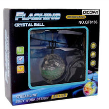 Load image into Gallery viewer, LED Ball RC Helicopter Quadcopter Drone