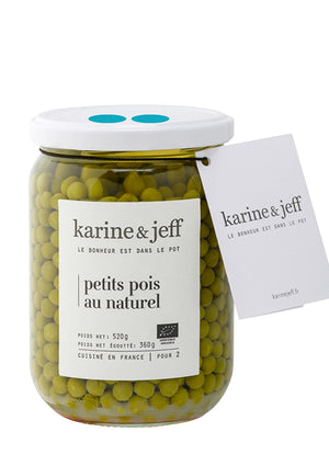 Petits pois au naturel - Spoted