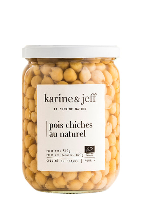 Pois chiches au naturel - Spoted