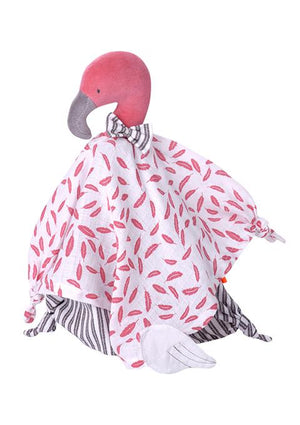 Doudou lange - Flamant rose - Spoted