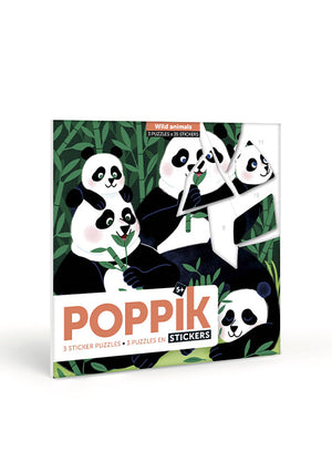 Puzzle en stickers Animaux sauvages - Spoted