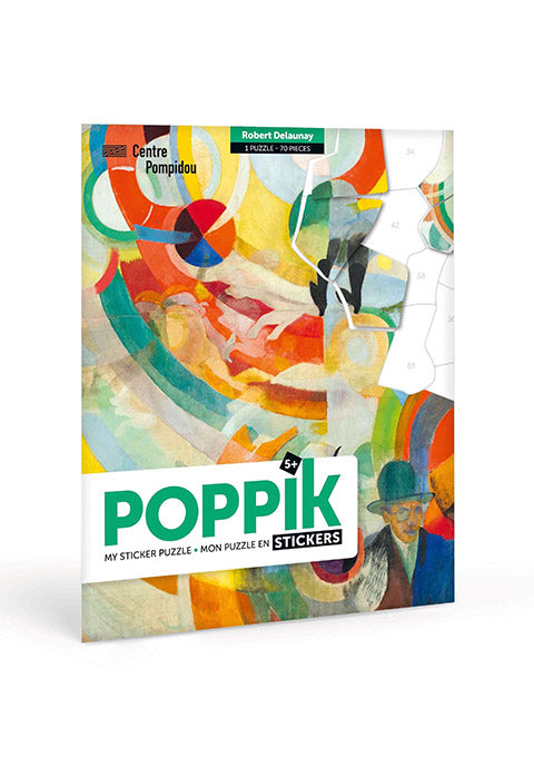 Puzzle en stickers Delaunay - Spoted