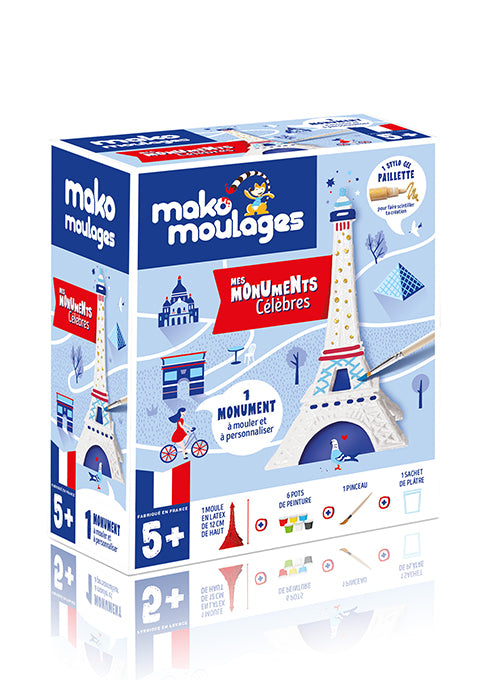 "Mako moulages "" Ma Tour Eiffel "" - Spoted"