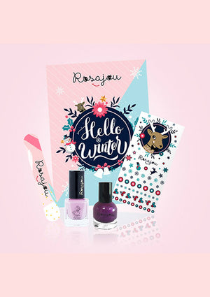 Coffret Jolis Ongles Flamingo et Royal - spoted