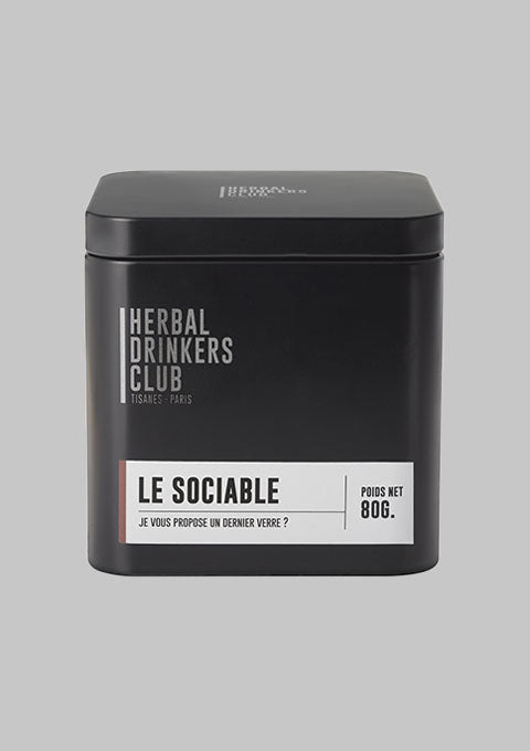 Tisane Le Sociable en vrac - spoted