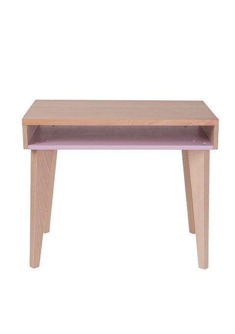 Bureau Trait d'union Rose pâle