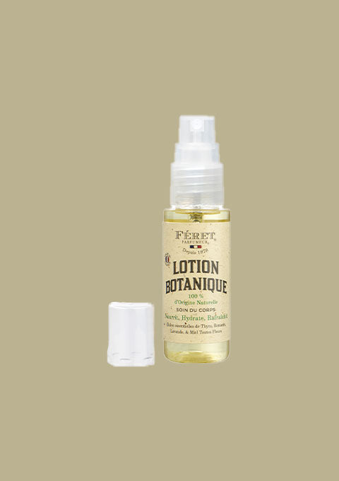 Lotion Botanique format voyages - Spoted