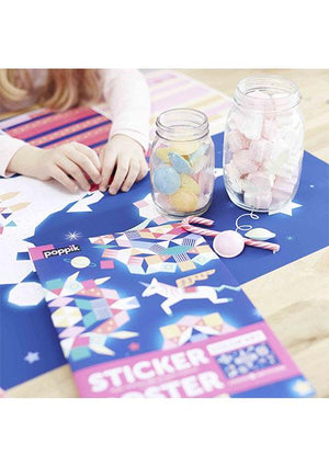 Poster géant et 1000 stickers Constellation - Spoted