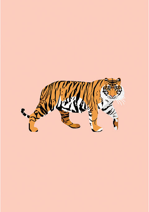 Poster Tigre - Spoted