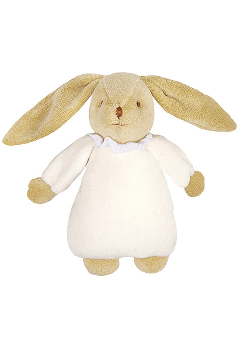 Lapin Nid d'Ange Doudou Musical - Ivoire 25Cm