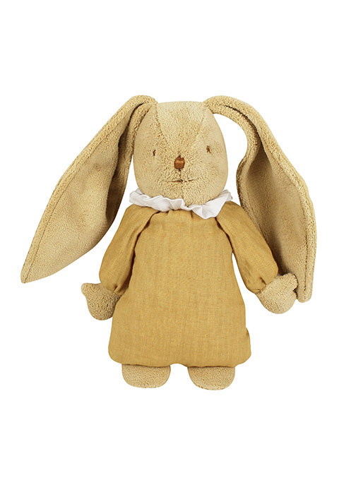 Lapin Nid d'Ange Doudou Musical - Lin Curry 25Cm