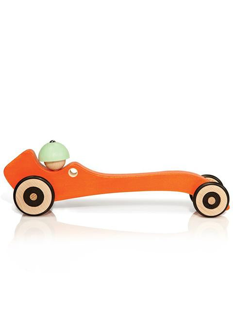 Autotop Orange Car - Spoted