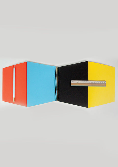 Cahier d'art Trapecio Couleur - Spoted