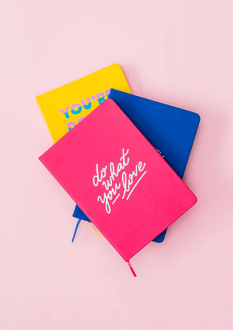Carnet  Do what you love - Spoted