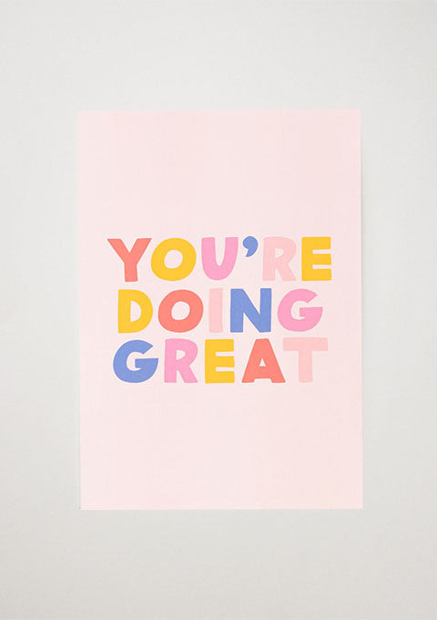 Affiche You are doing great - Spoted