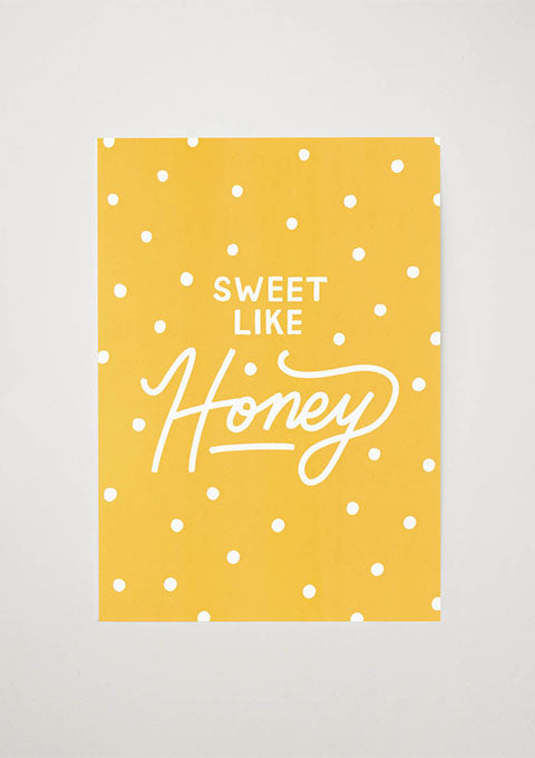 Affiche Sweet Like Honey - Spoted