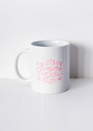 Mug en céramique Keep Going - Spoted