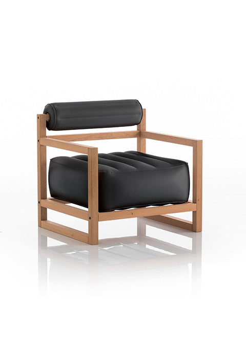 Fauteuil Yoko Bois - Spoted