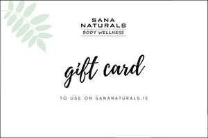 Natural Irish skincare digital gift card