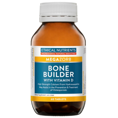 Ethical Nutrients - Megazorb Bone Builder with Vitamin D 60 tabs