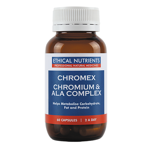Ethical Nutrients - Chromex Chromium & ALA Complex 60 caps