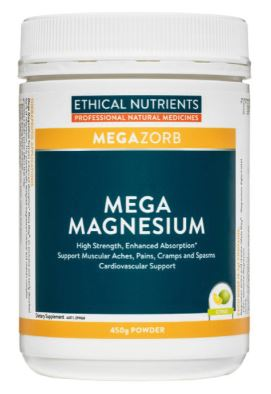 Ethical Nutrients - Megazorb Mega Magnesium Powder (Citrus) 450g