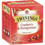 Twinings Cranberry Pomegranate Tea Bags 10pk