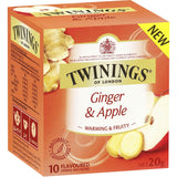 Twinings Ginger & Apple Tea Bags 10pk