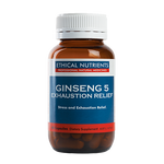 Ethical Nutrients - Ginseng 5 Exhaustion Relief 60 caps