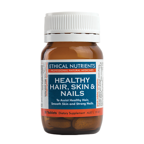 Ethical Nutrients - Healthy Hair, Skin & Nails 30 tabs
