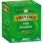 Twinings Irish Breakfast Tea Bags 10pk