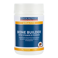 Ethical Nutrients - Megazorb Bone Builder with Vitamin D Powder 150g