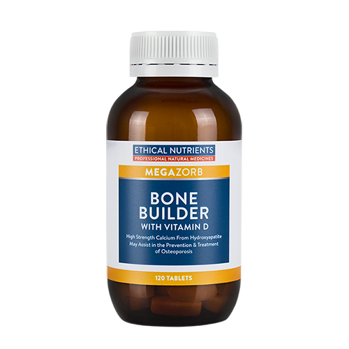 Ethical Nutrients - Megazorb Bone Builder with Vitamin D 120 tabs