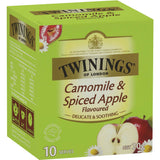 Twinings Spiced Apple Infused Chamomile Tea Bags 10pk