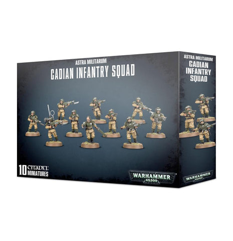 Astra Militarum Cadian Infantry Squad - Cadian Shock Troops