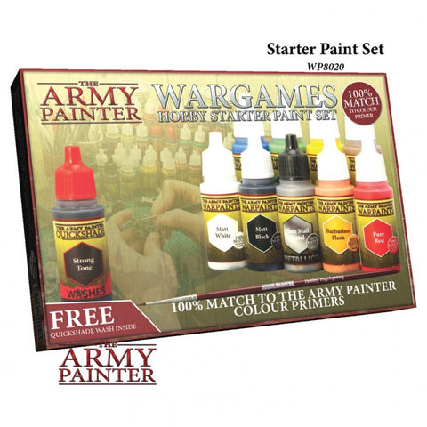 Army Painter Wargames Hobby Starter Paint Set