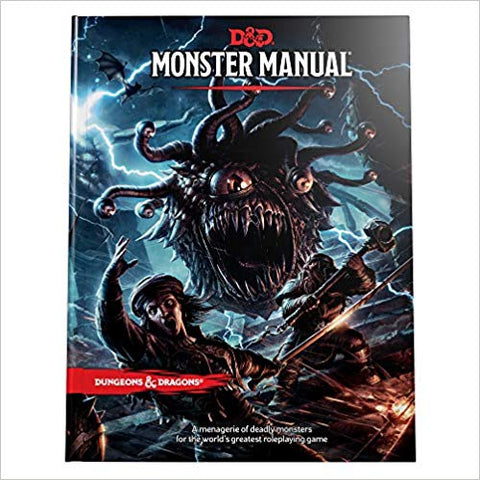 Monsters Manual - Dungeons & Dragons