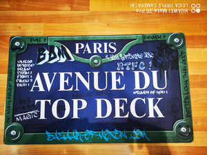 Avenue Du Top Deck Playmat