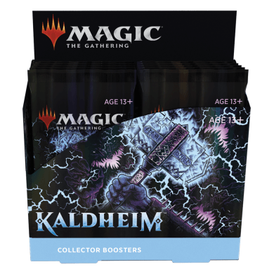 Preorder - Kaldheim - MTG - Collectors Booster Display