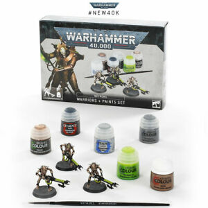 Warhammer 40K - Necrons: Warriors and Paints