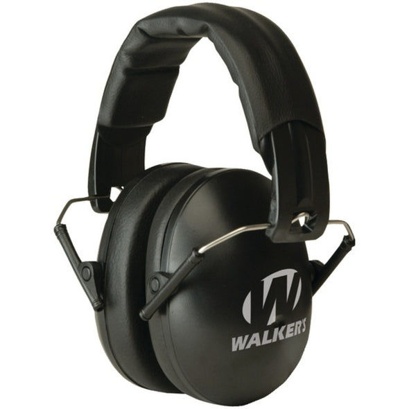 Walkers Game Ear GWP-YWFM2 Youth & Women Folding Muff (Black)